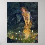 Midsummer Eve Pre-Raphaelite Art Print