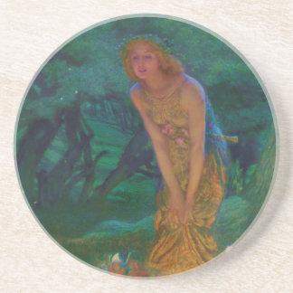 Midsummer Night Dream Fairy Circle Coaster