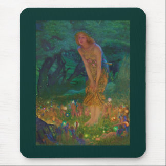 Midsummer Night Dream Fairy Circle Mouse Pad