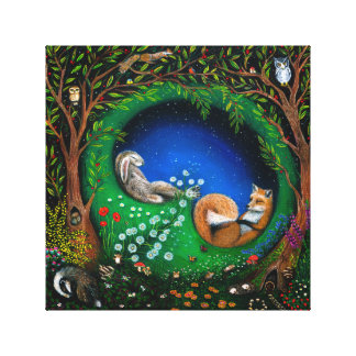 Midsummer Night's Dream Canvas Print