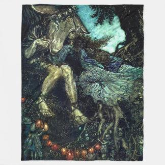 Midsummer Night's Dream Fleece Blanket