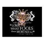 Midsummer Night's Dream Quote Post Card