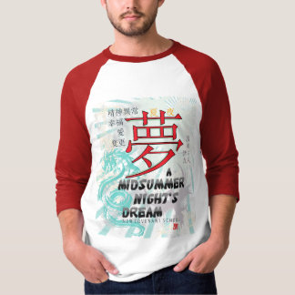 Midsummer Night's Dream -- raglan T-Shirt