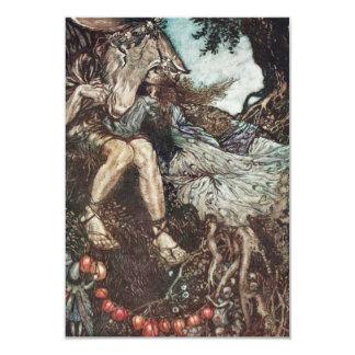 Midsummer Night's Dream RSVP Card