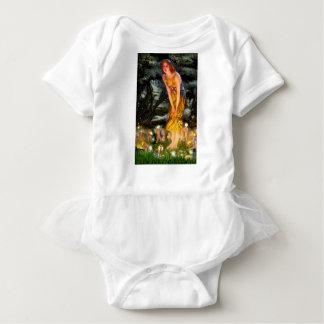 Midsummer's Eve - add a pet Baby Bodysuit