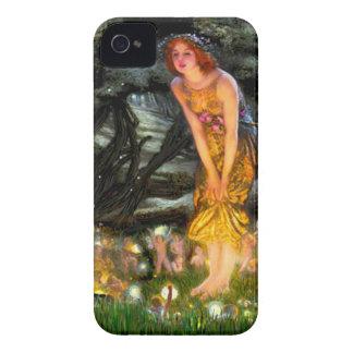 Midsummer's Eve - add a pet iPhone 4 Case-Mate Case
