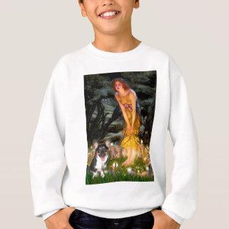 Midsummers Eve - Welsh Corgi (tri Pembroke pup) Sweatshirt