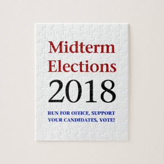 Midterm Elections 2018 Jigsaw Puzzle