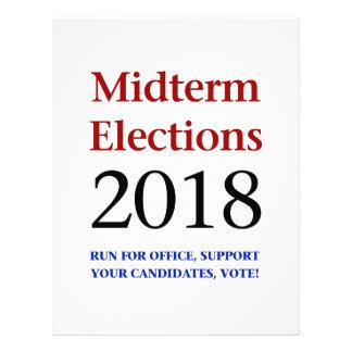 Midterm Elections 2018 Letterhead