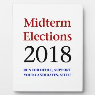 Midterm Elections 2018 Plaque