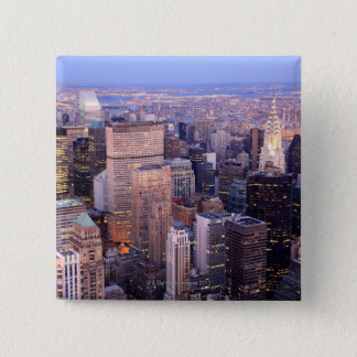 Midtown and Upper East Side 2 Inch Square Button