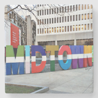 Midtown Atlanta Sign , Coaster
