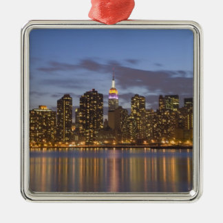 Midtown Manhattan Metal Ornament
