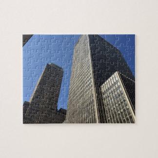 Midtown Manhattan New York City Skyscrapers NYC Jigsaw Puzzle