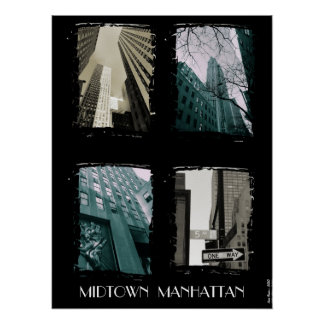 Midtown Manhattan Poster