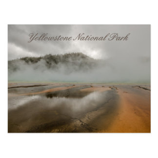 Midway Geyser Basin in Yellowstone National Park Postcard
