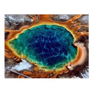 Midway Geyser, Yellowstone, Wyoming Postcard