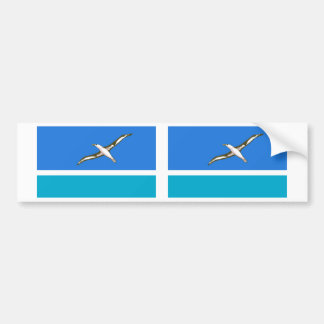 Midway Islands Flag Bumper Stickers