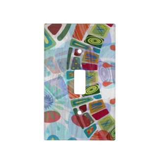 Midway Panels III Light Switch Cover