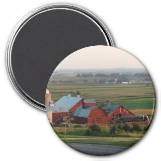 Midwest Farm Landscape Magnet