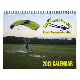 Midwest Freefall Calendar 2012 Standard size