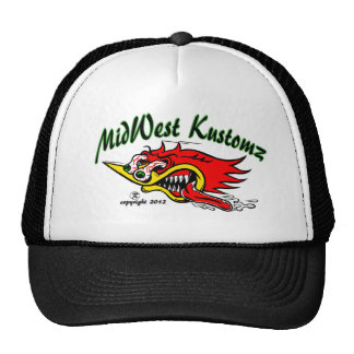 MidWest Kustomz WOODY Trucker Hat