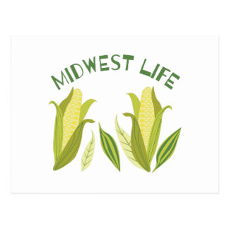 Midwest Life Postcard