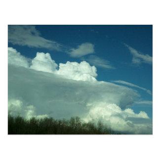Midwest Storm Clouds Postcard