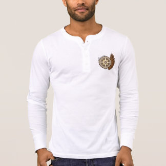 MidWest Wing Henley - Classic Wing T-Shirt