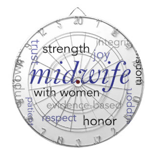 midwife word cloud dart boards