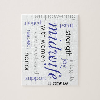 midwife word cloud jigsaw puzzle