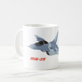 MiG-29 Jet Fighter Mug