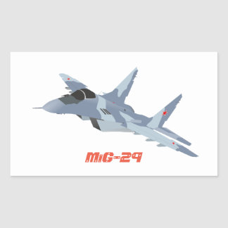 MiG-29 Jet Fighter Sticker