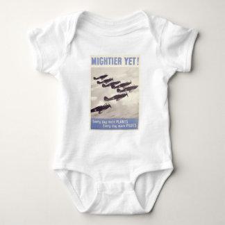 mightier yet world war 2 vintage design shirt