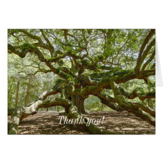 Mighty Angel Oak Card
