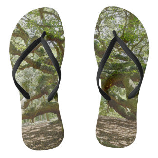 Mighty Angel Oak Flip Flops