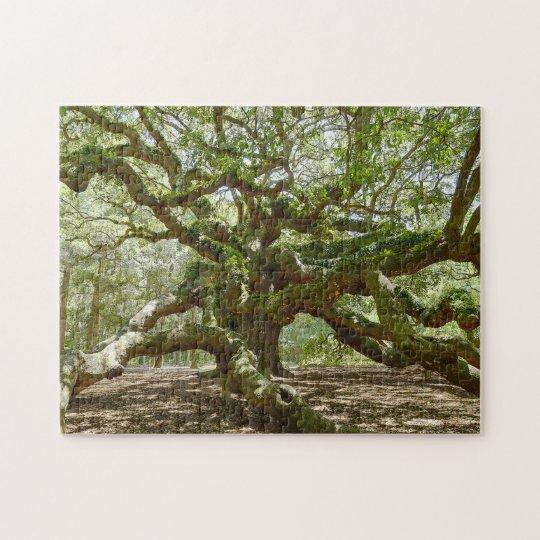 Mighty Angel Oak Jigsaw Puzzle