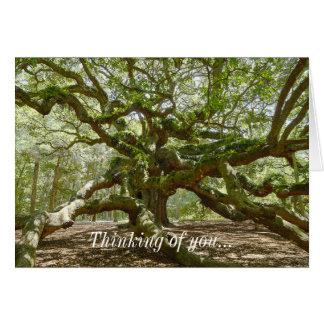 Mighty Angel Oak Note Card