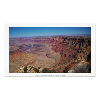 """Mighty Colorado and Canyons"" Grand Canyon Photo Art"