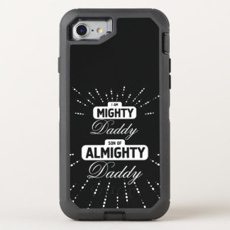 Mighty Daddy Almighty Daddy OtterBox Defender iPhone 7 Case