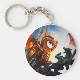 Mighty Dragon Keyhain Keychain