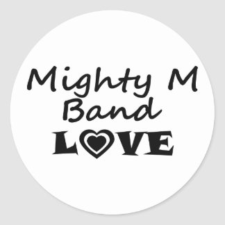 Mighty M Band Love Sticker