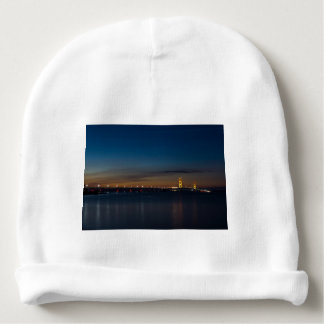 Mighty Mac At Night Pano Baby Beanie