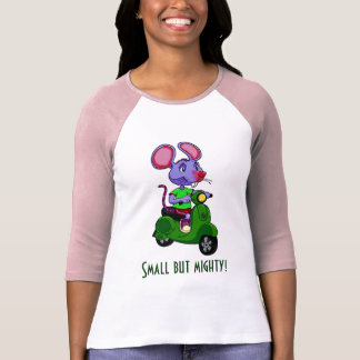 Mighty Scooter Mouse T-Shirt