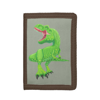 Mighty T-Rex Trifold Wallet