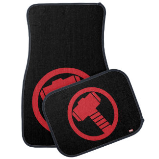 Mighty Thor Logo Car Mat