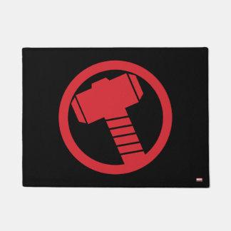 Mighty Thor Logo Doormat