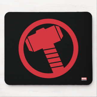 Mighty Thor Logo Mouse Pad