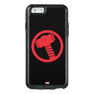 Mighty Thor Logo OtterBox iPhone 6/6s Case