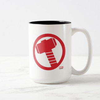 Mighty Thor Logo Two-Tone Coffee Mug